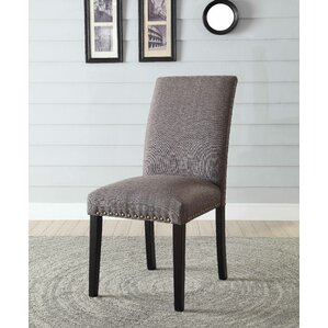 Ellettsville Upholstered Dining Chair (Set of 2) by Alcott Hill