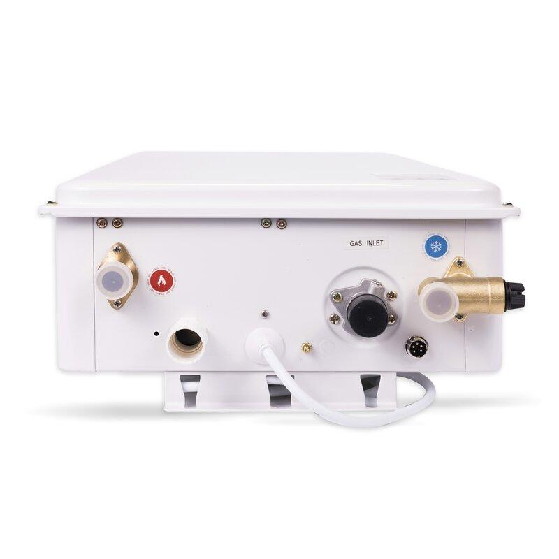 Eccotemp 6 8 GPM Tankless Liquid Propane Water Heater Horizontal Bundle