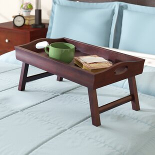 Calahan Bed Tray With Foldable Legs
