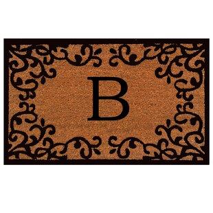 Merveilleux Libertyville Monogram Doormat