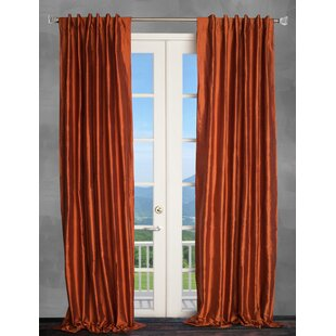 Burgundy And Gold Curtains | Wayfair