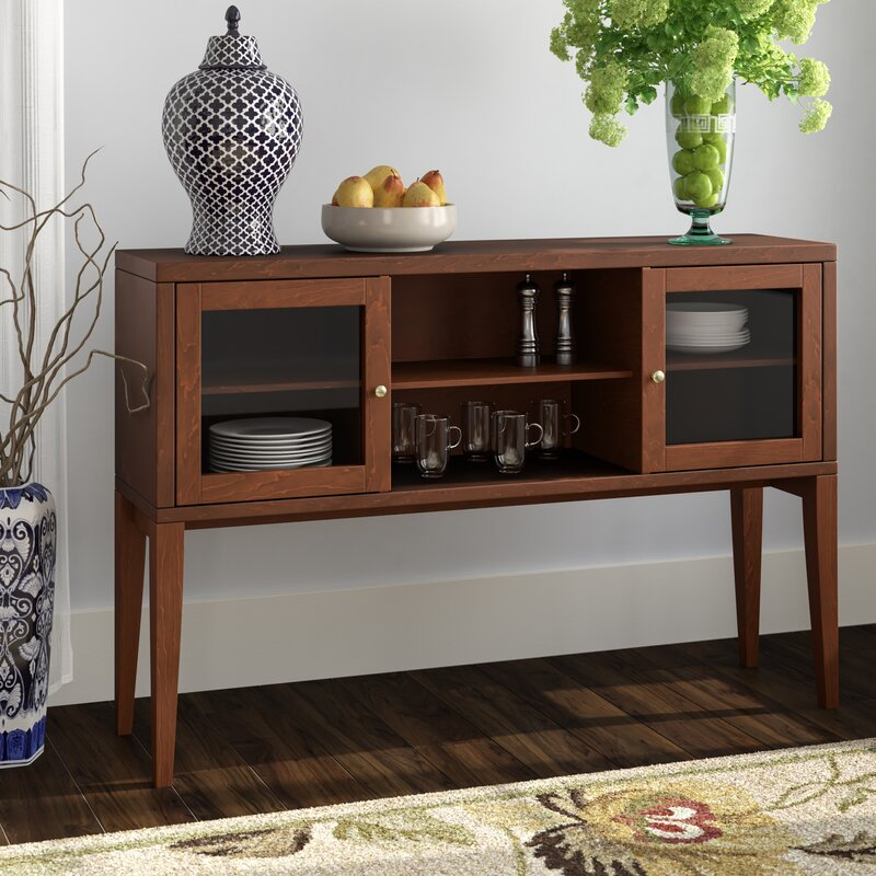 Top Rated Furniture Stores: Red Barrel Studio Oakford Wood Buffet Table & Reviews