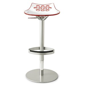 Jam Adjustable Height Swivel Bar Stool by..