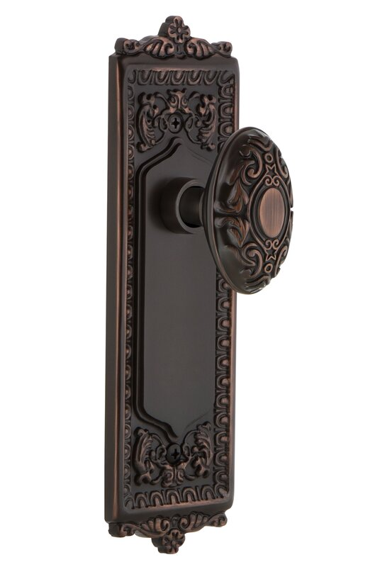 Nostalgic Warehouse Victorian Privacy Door Knob with Egg and Dart ...