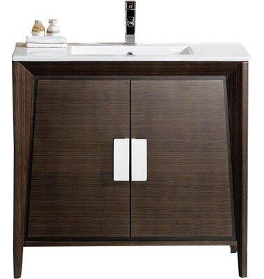 Modern Free Standing Single Bathroom Vanities Allmodern