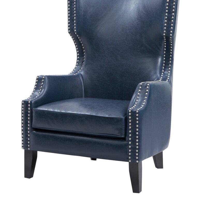 Alcott Hill Welwyn Wingback Chair Amp Reviews Wayfair