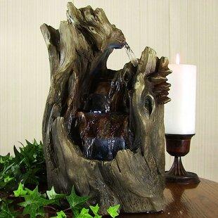 Fontaine De Cascade De Table En Cascade Avec Lumière Dale