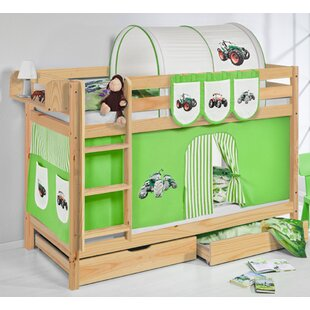 Belle Tractor European Single Bunk Bed by Just Kids