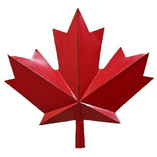 716eb51fc0 Maple Leaf Metal Wall Art | Wayfair.ca