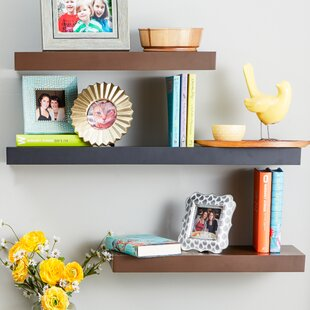 Black Floating Shelves Youll Love Wayfair