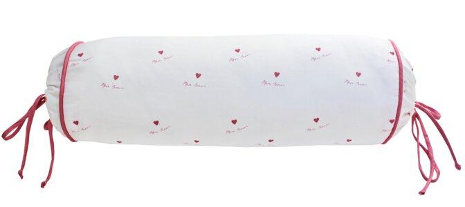 Mon Coeur Cotton Bolster Pillow