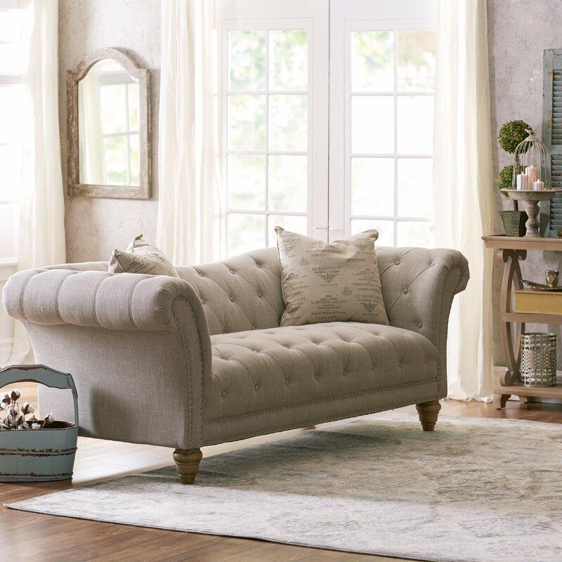 Lark Manor Versailles Chesterfield Sofa Amp Reviews Wayfair