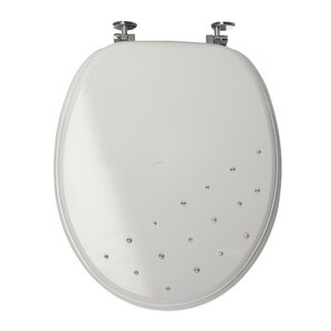 uk toilet seat sizes. Diamante Round Toilet Seat Seats  Soft Close Wayfair co uk
