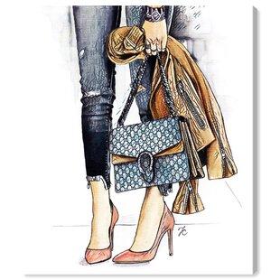 02ad07dbc005 Fashion  Doll Memories - Fashion Street Glam  Print on Canvas