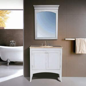 Malloy 36″ Single Bathroom Vanity Set with Mirror