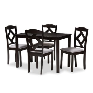 Yarmouth 5 Piece Dining Set