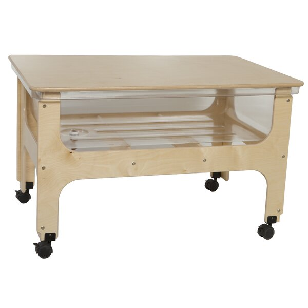 - Wood Designs Deluxe Sand And Water Table & Reviews Wayfair