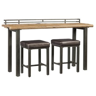 Elmore 3 Piece Pub Table Set