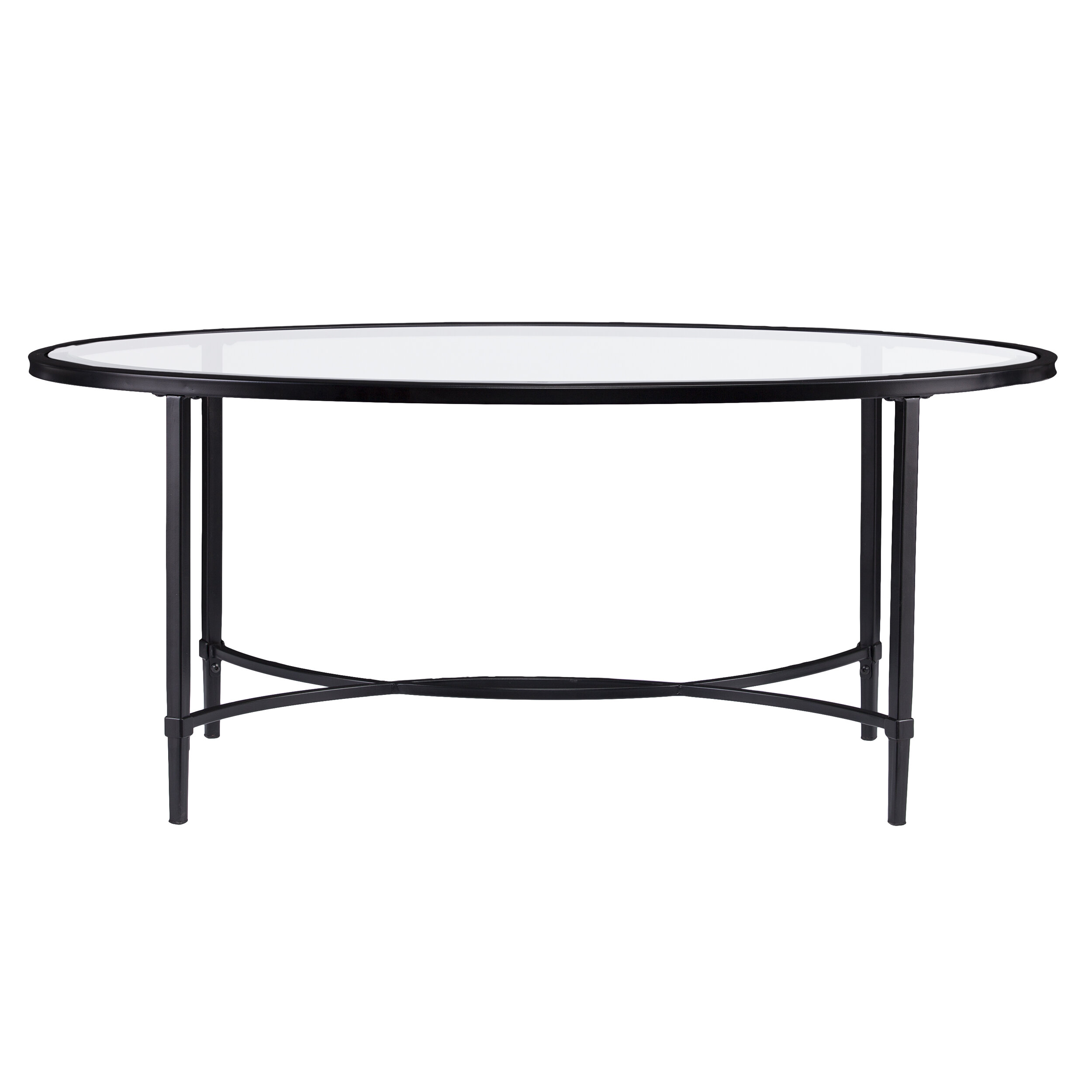 Sherrodsville Metal Glass Coffee Table & Reviews