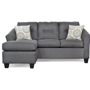 Desales Sectional  sc 1 st  Wayfair : loveseat sectional sofas - Sectionals, Sofas & Couches