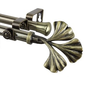 fortune double curtain rod
