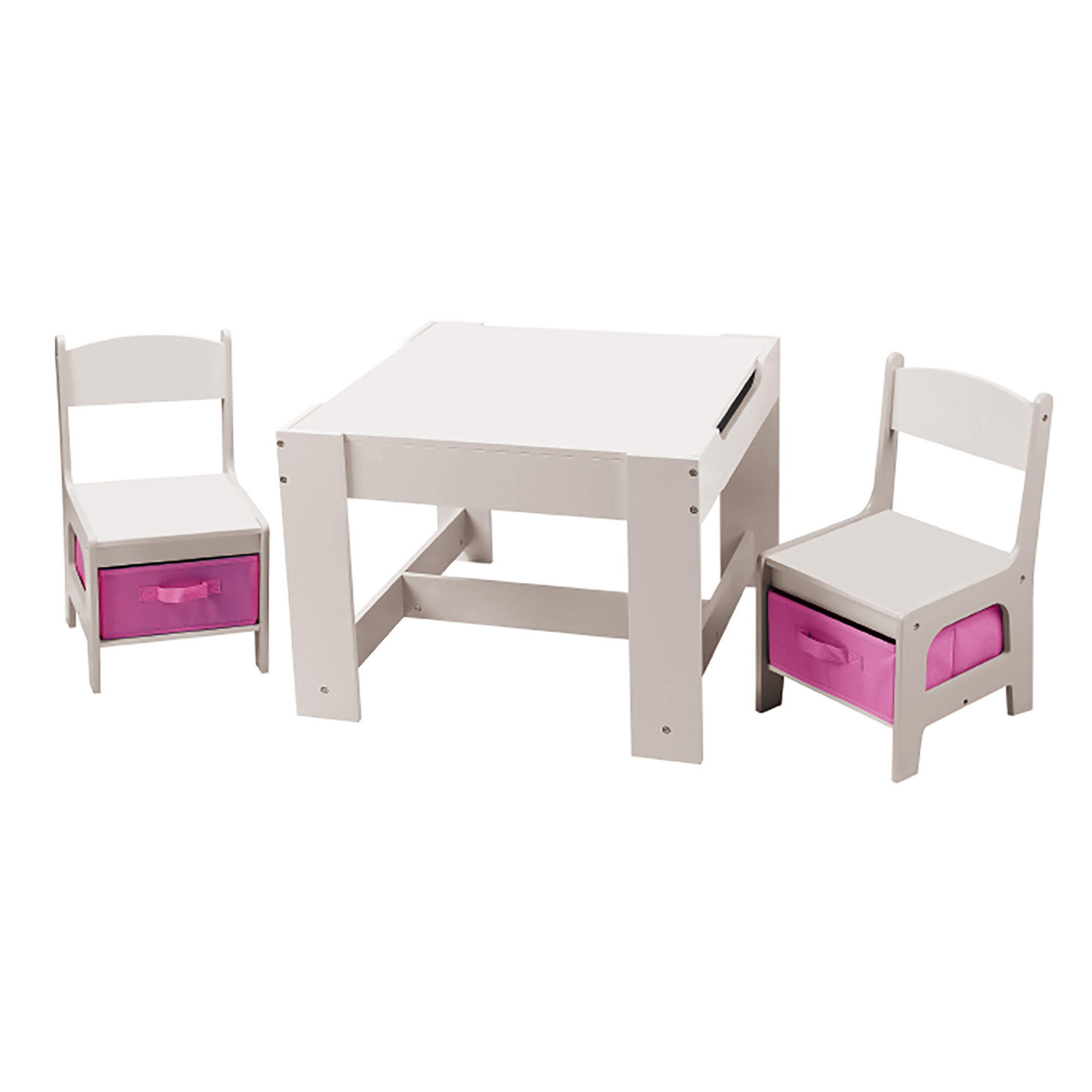 3-tlg. Kinder Tisch und Stuhl-Set Conde