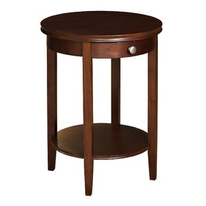 Shelburne End Table With S..