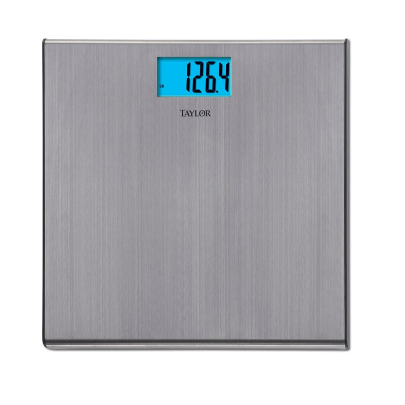 d5c588c43915 Taylor Bath Scale with LCD Display