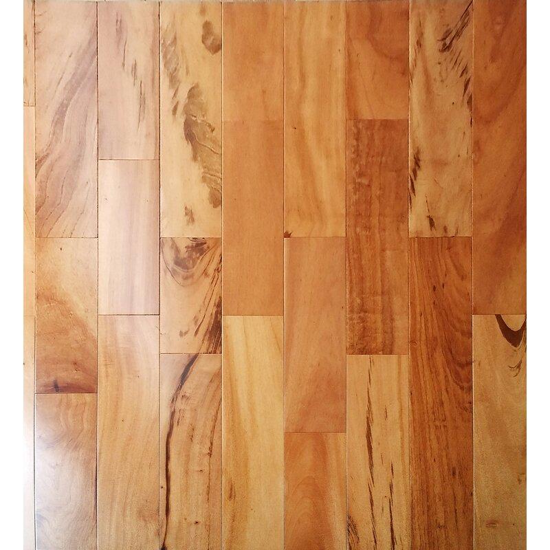Welles Hardwood 5 Myra Engineered Tigerwood Hardwood Flooring In