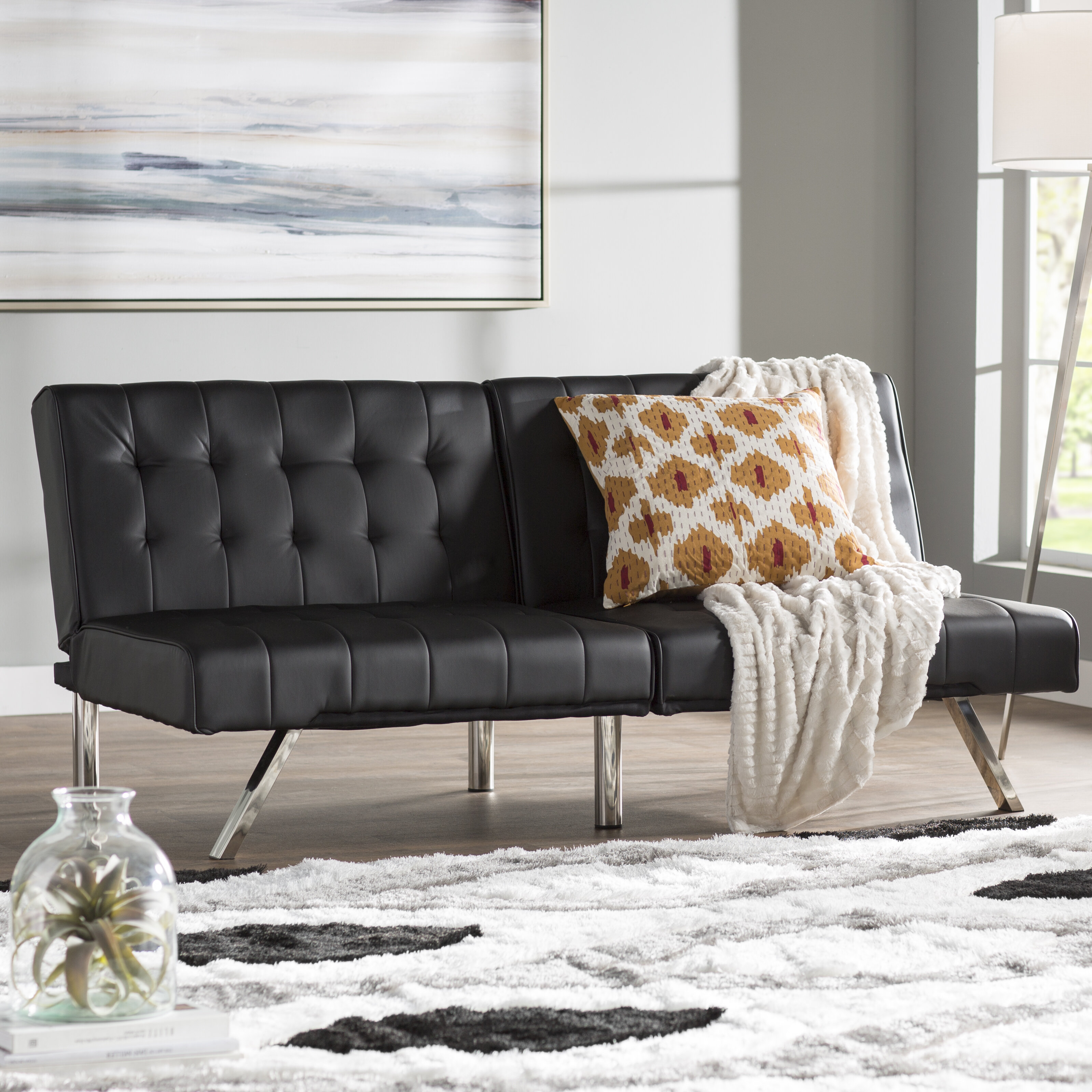 for with less futon emily awesome costco futons convertible interesting