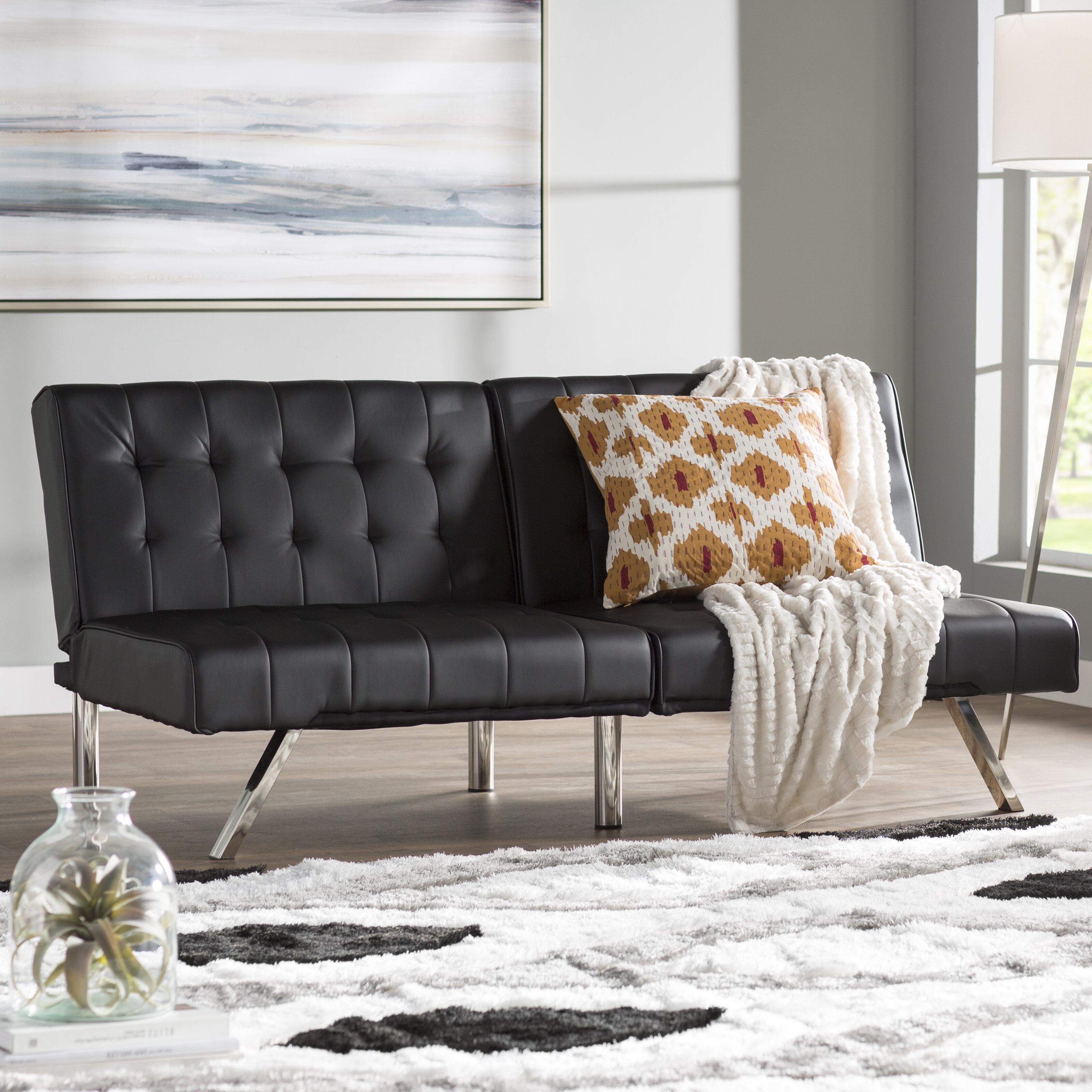 Wade Logan Littrell Convertible Sofa Reviews Wayfair