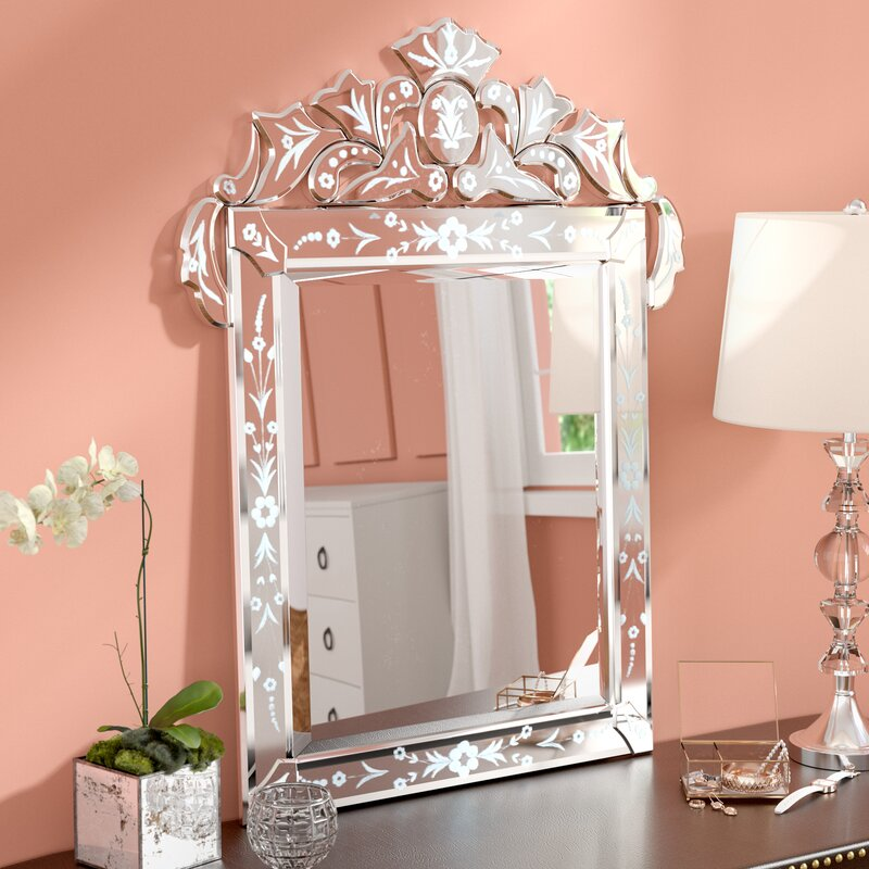 Convenience Store Exterior Accent Wall: Willa Arlo Interiors Glam Vertical Accent Wall Mirror