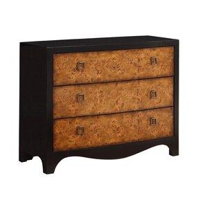 Toril 3 Drawer Dresser by Bloomsbury Market