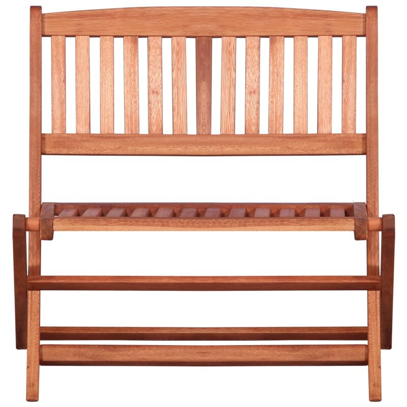 Admirable Berkfield Childrens Garden Bench 61 Cm Solid Eucalyptus Wood Short Links Chair Design For Home Short Linksinfo