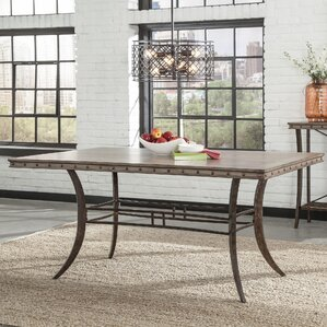 Luxton Rectangle Dining Table by Loon Peak