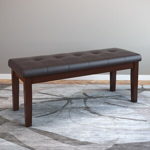 Leather Bench by Red Barrel Studio