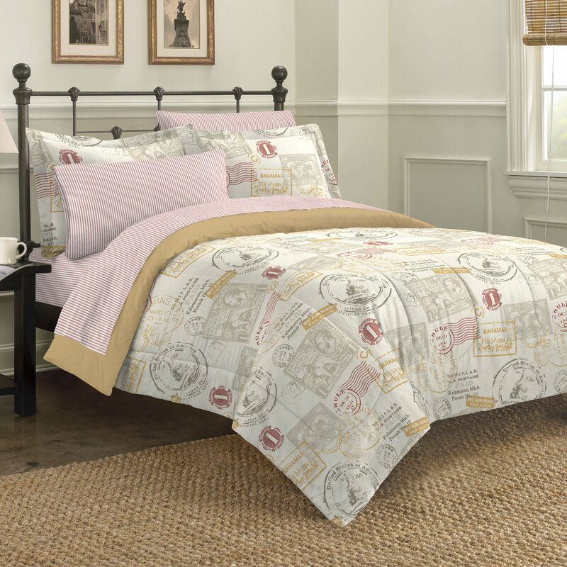 Unique Travel Themed Bedding | Wayfair TL11