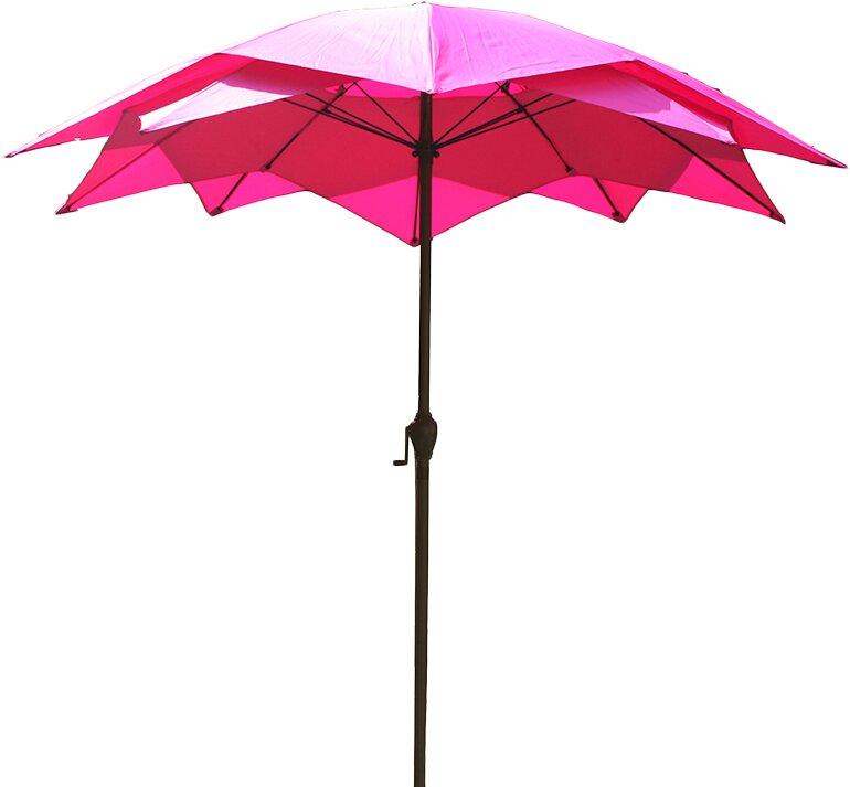 Lb International 6 5 Market Umbrella Amp Reviews Wayfair