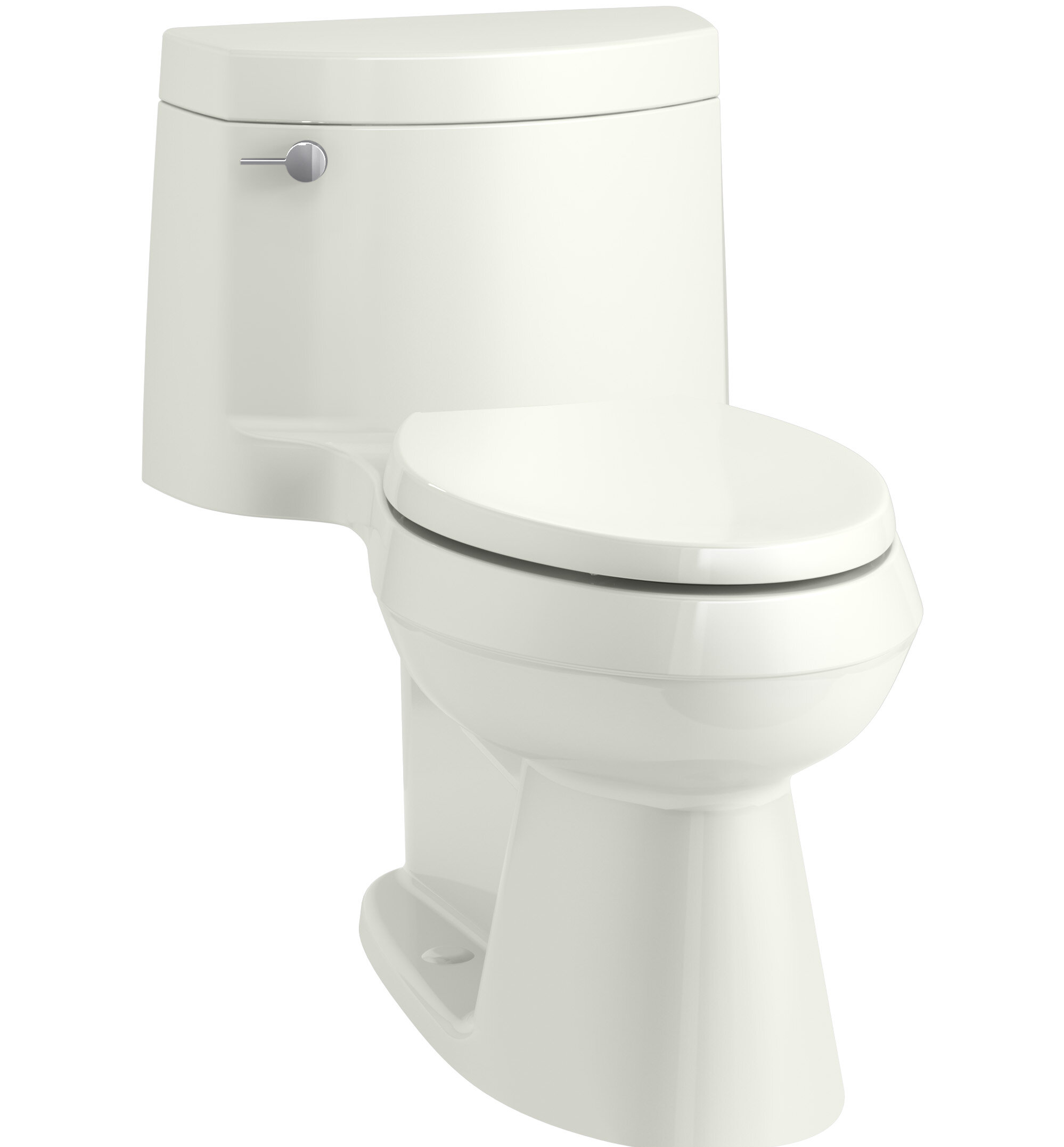 Kohler Cimarron Comfort Height One-Piece Elongated 1.28 GPF Toilet ...