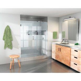 36 inch glass shower door wayfair 365 x 78 hinged frameless shower door by glass warehouse planetlyrics Gallery