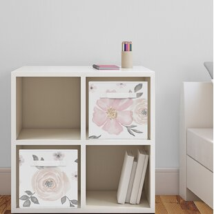 Floral Fabric Storage Cube