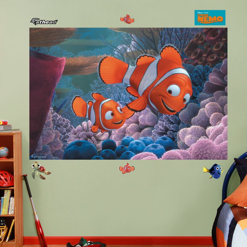 Ordinaire Disney Finding Nemo Wall Decal