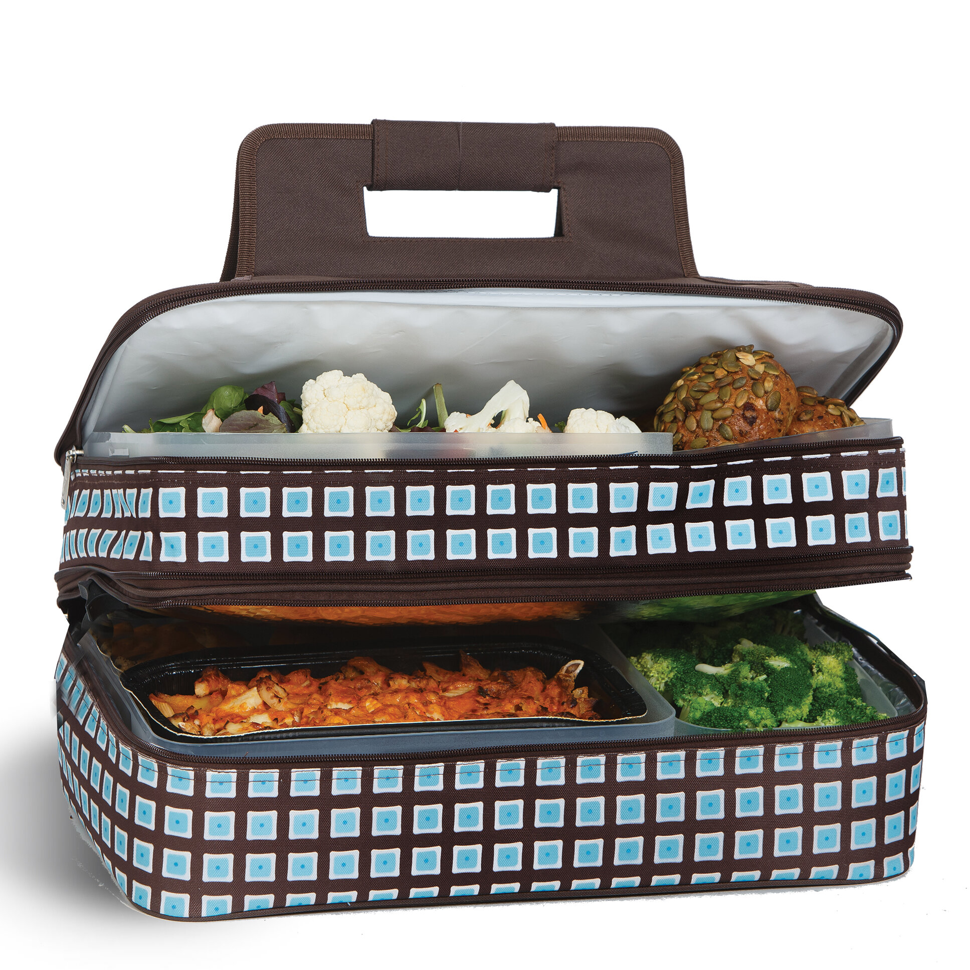 Picnic Plus By Spectrum Entertainer Hot And Cold Food Storage
