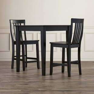 Haslingden 3 Piece Pub Table Set