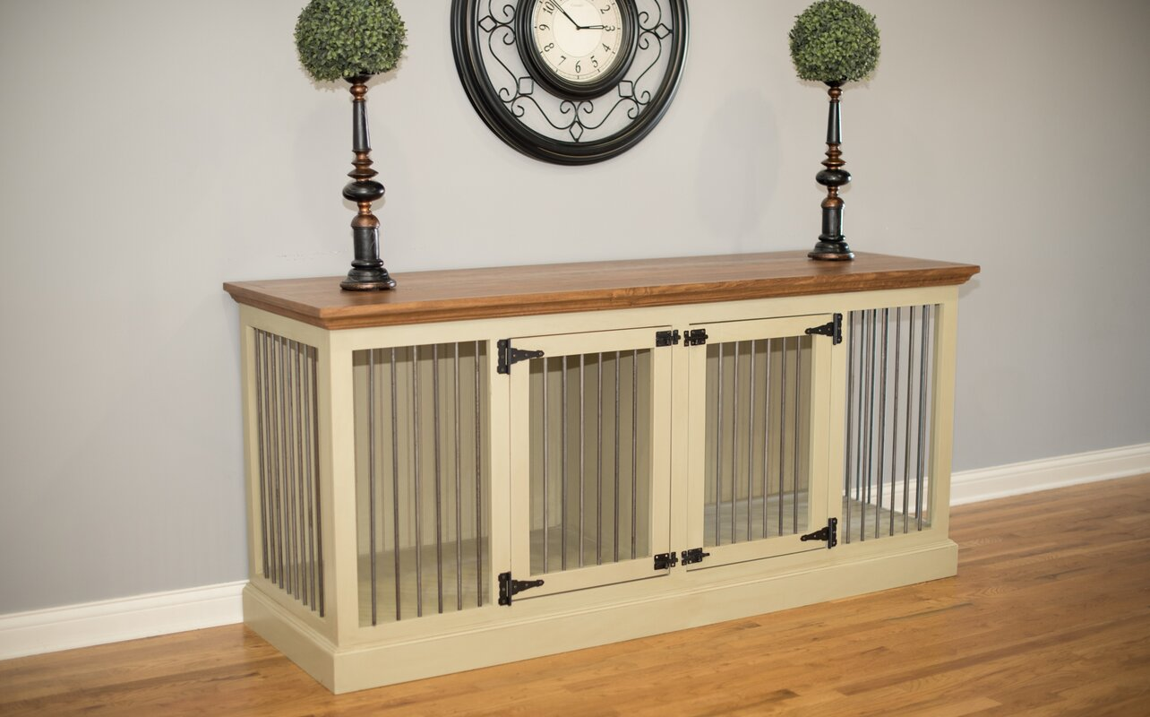 Eagle Furniture Manufacturing Cozy K-9 Double Wide Medium Credenza ...