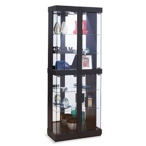 Rohe II Lighted Curio Cabinet by Philip R..