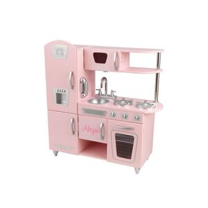 Charming Personalized Pink Vintage Kitchen
