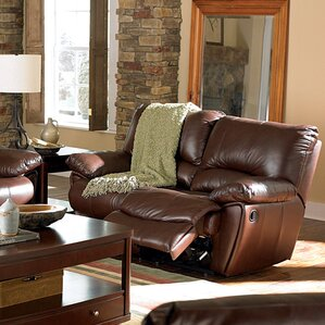 Motion Reclining Loveseat by Wildon Ho..