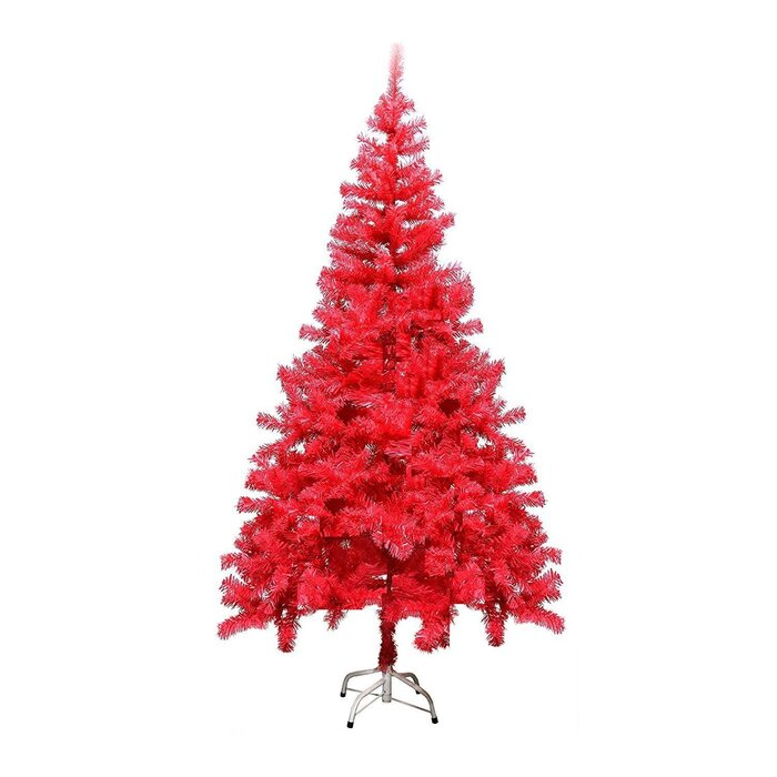 0710b14112a The Holiday Aisle PVC Red Pine Artificial Christmas Tree   Reviews ...