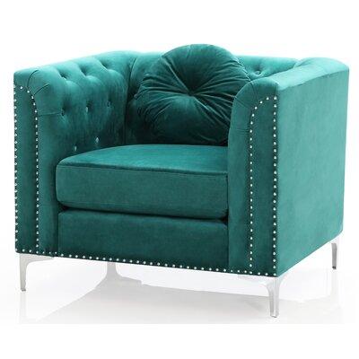 Green Velvet Chair Wayfair
